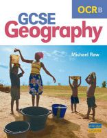 OCR (B) GCSE Geography: Textbook: Book by Michael Raw
