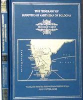 Itinerary of Ludovico Di Varthema of Bologna - Discourse on Varthema and his Travels in Southern Asia (A.D. 1502 - 1508) : Book by Ludovico Di Varthema ,  R.C.  Temple