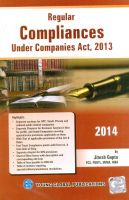 Regular Compliances under Companies Act 2013: Book by Jitesh Gupta