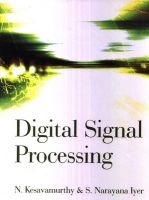 Digital Signal Processing (English): Book by N. Kesavamurthy