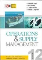 Operations & Supply Management:Book by Author-Richard Chase, Ravi Shankar , Jacobs