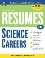 Resumes for Science Careers: Book by McGraw-Hill