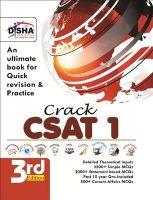 Crack Civil Services General Studies IAS Prelims (CSAT) - Paper 1 Third Edition: Book by Disha Experts