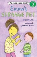 Emma's Strange Pet: Book by Jean Little,Jennifer Plecas
