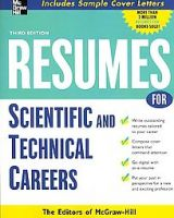Resumes for Scientific and Technical Careers: Book by Editors of McGraw-Hill
