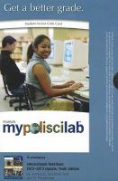MyPoliSciLab - Standalone Access Card - for International Relations: 2012-2013 Update: Book by Joshua S. Goldstein