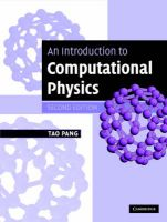 An Introduction to Computational Physics: Book by Tao Pang