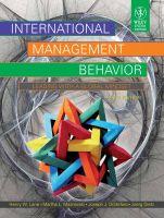 International Management Behavior: Leading with A Global Mindset: Book by Henry W. Lane