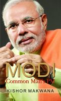 Modi: Common Man's PM: Book by Kishor Makwana