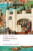 Geoffrey Chaucer (Authors in Context): Book by Peter Brown