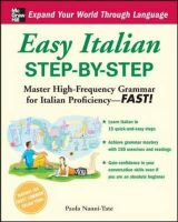Easy Italian Step-by-step: Book by Paola Nanni-Tate
