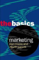 Marketing: The Basics: Book by Karl Moore , Niketh Pareek