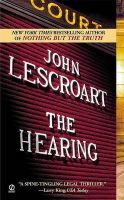 The Hearing:Book by Author-John Lescroart