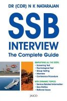 SSB Interview : The Complete Guide: Book by N. K. Natarajan