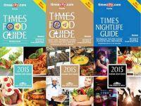 Times Food & Nightlife Guide Mumbai - 2015 (Set of 3 Books) (English): Book by Rashmi Uday Singh