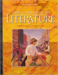 McDougal Littell Language of Literature: Student Edition Grade 11 2000 (English) (Hardcover): Book by Arthur N. Applebee, Judith A. Langer, Andrea B. Bermudez, James Marshall, Susan Hynds, Sheridan Blau, Rebekah Caplan, Peter Elbow