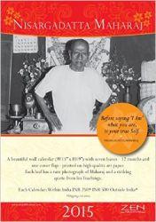 Nisargadatta Maharaj Calendar 2015 (English)