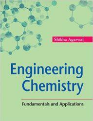 Engineering Chemistry: Book by Agarwal