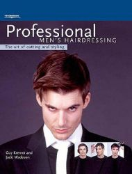 Professional Men's Hairdressing: the Art of Cutting and Styling: Book by Guy Kremer