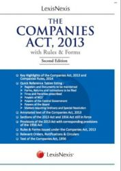 The Companies Act,2013 With Rules & Forms