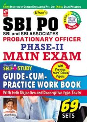 SBI PO PHASE - 2 MAIN EXAM SELF STUDY GUIDE - CUM - PRACTICE WORK BOOK(WITH CD)--ENGLISH