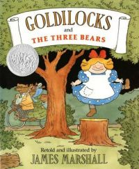 Marshall James : Goldilocks & the Three Bears (Hbk): Book by James Marshall