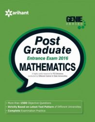 Post Graduate (Pg) Sanatakottar Pravesh Pariksha 2016 Mathematics (English) (Paperback): Book by  An Editorial Team Of Highly Skilled Professionals At Arihant, Works Hand In Glove To Ensure That The Students Receive The Best And Accurate Content Through Our Books. From Inception Till The Book Comes Out From Print, The Whole Team Comprising Of Authors, Editors, Proofreaders And Various Other Invo... View More An Editorial Team Of Highly Skilled Professionals At Arihant, Works Hand In Glove To Ensure That The Students Receive The Best And Accurate Content Through Our Books. From Inception Till The Book Comes Out From Print, The Whole Team Comprising Of Authors, Editors, Proofreaders And Various Other Involved In Shaping The Book Put In Their Best Efforts, Knowledge And Experience To Produce The Rigorous Content The Students Receive. Keeping In Mind The Specific Requirements Of The Students And Various Examinations, The Carefully Designed Exam Oriented And Exam Ready Content Comes Out Only After Intensive Research And Analysis. The Experts Have Adopted Whole New Style Of Presenting The Content Which Is Easily Understandable, Leaving Behind The Old Traditional Methods Which Once Used To Be The Most Effective. They Have Been Developing The Latest Content & Updates As Per The Needs And Requirements Of The Students Making Our Books A Hallmark For Quality And Reliability For The Past 15 Years.