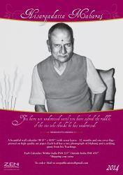 Nisargadata Maharaj Wall Calendar_2014: Book by Nisargadatta Maharaj