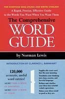 Comprehensive Word Guide: Book by Norman Lewis