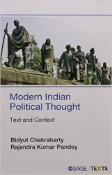 Modern Indian Political Thought: Text and Context: Book by Bidyut Chakrabarty