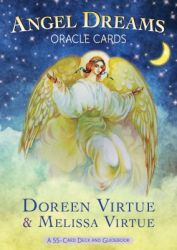 Angel Dreams - Oracle Cards : A 55 - Card Deck and Guidebook (English) (Hardcover): Book by Doreen Virtue, Melissa Virtue