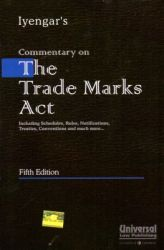 Commentary on the TradeMarks Act: Book by Iyengar