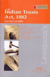Indian Trust Act 1882: Book by Lawmann