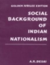 Social Background of Indian Nationalism: Book by A.R. Desai