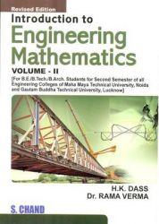 Introduction to Engineering Mathematics Vol-II`: Book by H K DASS, RAMA VERMA