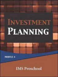 Investment Planning: Module 4: Book by Ims Proschool