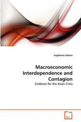 Macroeconomic Interdependence and Contagion: Book by Sugiharso Safuan