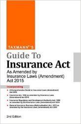 GUIDE TO INSURANCE ACT : Book by Taxmann