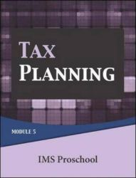 Tax Planning: Module 5: Book by Ims Proschool