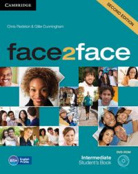 Face2face Intermediate Student's Book with DVD-ROM: Book by Chris Redston