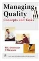 Managing Quality : Concepts and Tasks: Book by N. S. Sreenivasan