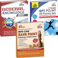 IBPS Bank PO Preliminary & Main Simplified (Guide + 20 Practice Sets + General Knowledge 2017) 3rd edition: Book by Disha Experts