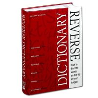 Reader's Digest Illustrated Reverse Dictionary (Hardcover)