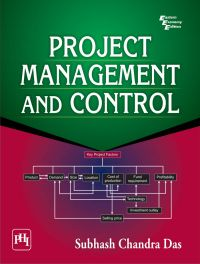 PROJECT MANAGEMENT AND CONTROL: Book by S.C. Das