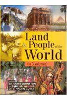Land And People of The World (3 Vols.): Book by Sir Harry Johnston