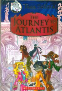 The Journey to Atlantis (English) (Hardcover): Book by Geronimo Stilton