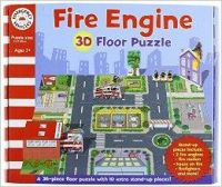 Emergency Vehicles 3D - Fire Engine: Book by Five Mile Press