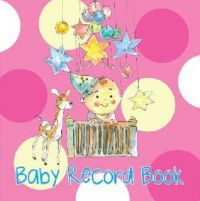 Baby Record Book (Pink) (English): Book by OM KIdz