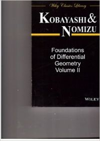 FOUNDATIONS OF DIFFERENTIAL GEOMETRY, VOLUME 2 (English): Book by KOBAYASHI, NOMIZU