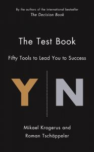 The Test Book: Fifty Tools to Lead You to Success: Book by Mikael Krogerus